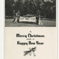 Hoof Prints Club Christmas Card