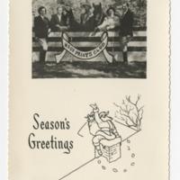 Hoof Prints Club Holiday Card