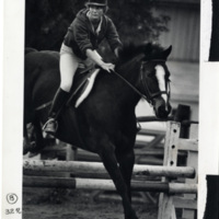 Student Jumping Horse